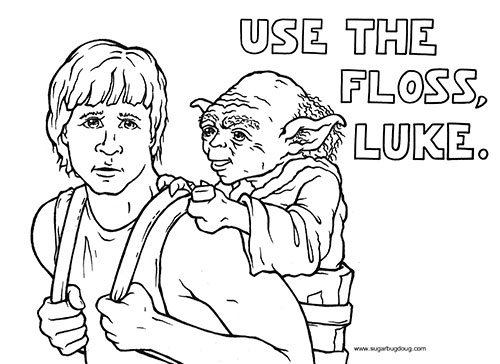 Use the Floss Luke, Dentist Burnaby